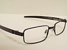 Authentic Oakley OX3095-0154 TWIN SHOCK Polished Black Eyeglasses Frame $275