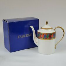 Faberge China Karsavina Coffee Pot With Lid