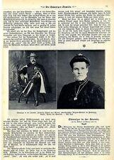 US-Miliz-General Friedrich Tschudi v.Glarus Historische Memorabilie 1908