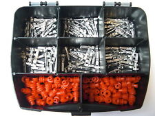 Amp Superseal GUARNIZIONI + contatti circa 200 pezzi + box impianto elettrico, MOTO DUCATI
