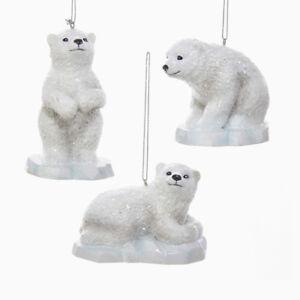 Polar Bear on Iceberg Ornament