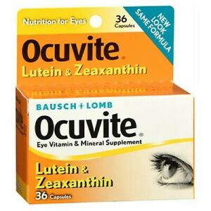 Bausch And Lomb Ocuvite Lutein Eye Vitamin And Mineral