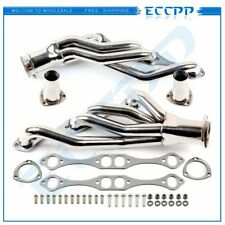 For Chevy Sbc Small Block Afg Body 50 57l Stainless Clipster Exhaust Header