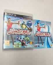 SPORTS CHAMPIONS PS3  USATO FUNZIONANTE