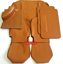 CLASSIC FIAT 500L TAN INTERIOR SEAT COVERS CARPET DOOR CARDS KIT BRAND NEW