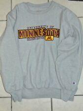 Minnesota Golden Gophers Champion Heather Gray Crewneck Sweater Xl