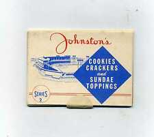 1955 Johnston's Cookies Unopened Pack-Super Tough in unopened form 61 Years old!