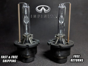 OE HID Headlight Bulb For Infiniti QX4 1999-2003 Low Beam Stock Fit Qty of 2