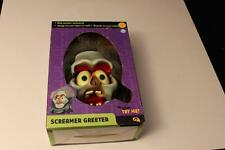 Rare Gemmy Halloween Screamer Greeter Door/Wall Hanging Animated Monster