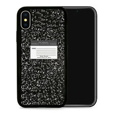 Notebook Design - Protective Phone Case Cover fits iPhone SE 5 6 7 8 X 11 Pro