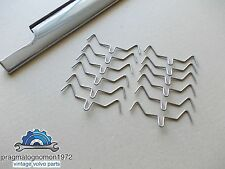 VOLVO 121 122 AMAZON TRIM CLIPS 12 PCS STAINLESS STEEL!!