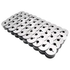 100PCS Aluminum Bobbins With Slot Fit Handi Quilter HQ16 Quilting & HQ18 Avante+