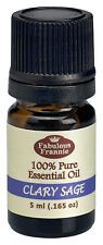 Clary Sage 5ml Pure Essential Oil BUY 3 GET1 by Fabulous Frannie