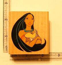 Rubber Stamp Disney Pocahontas Rubber Stampede Crafting Stamping Art Wood