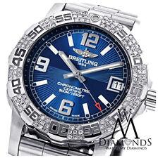 Original Diamond Breitling Colt 44 A7438710/BB50 Watch Black Dial Diamond Bezel