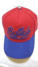 BUFFALO David Bitton Baseball Cap BUF771 Red OSFA - ONE SIZE, 50% WOOL 50% POLY