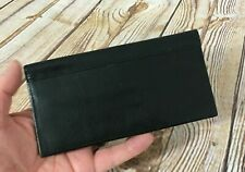 New COLE HAAN Black Leather Wallet Men's Made in USA