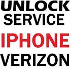 Factory Unlock Service Verizon iPhone SE 6s 6s Plus + 6 6 Plus 5s 5c 5 4s 4 3gs