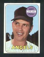 1969 Topps #565 Hoyt Wilhelm NM/NM+ Angels 125063