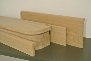 13 steps oak cladding system2 - bottom tread+riser rounded - untreated