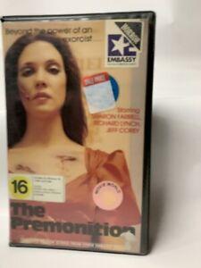 THE PREMONITION Australian NZ CBS-Fox VHS Video cult 80s arthousehorror