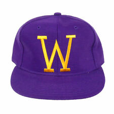 University of Washington Huskies Vintage 90 s New Era Purple Fitted Hat 6  ... f3b461824