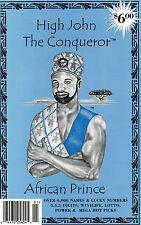John The Conqueror - Book of Names - Lottery Book