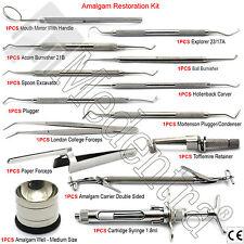 Amalgama dentale Kit di riempimento della cavità ANTERIORE POSTERIORE RESTAURO Instruments X14