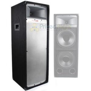 """MTX Cabinet Tower Dual 200 W RMS 12"""" Studio Loudspeaker 2-Way Speaker TP2400 DJ"""