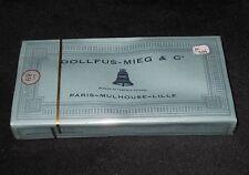 AC354 DMC DOLLFUS-MIEG & Cie RETORS A BRODER 12 ECHEVEAUX 2745 COTON CANEVAS NB
