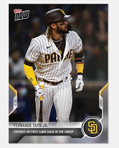 Fernando Tatis Jr. - 2021 MLB TOPPS NOW® Card 86