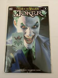 JOKER YEAR OF THE VILLAIN #1 Mike Mayhew Variant 1st Print Limited Ed to 3000