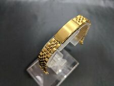 Vintage Wristwatch Band Bambi 13mm AG Stainless Steel New Old Stock JAPAN 1970s