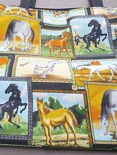 Horse Tote Bag w Coin Purse