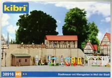 Kibri 38916 ( 8916 ) H0 - Stadtmauer mit Kleingarten NEU & OvP