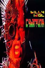 Billy Idol Cyberpunk POSTER 1993 Rare LARGE