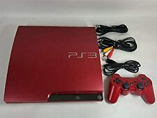 Sony PlayStation 3 PS3 Console System 320GB Scarlet Red JAPAN USED