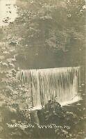 Averill Falls Park New York 1911 Rensselaer County  RPPC Photo Postcard 20-3712