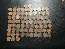 1874 -1864 And 73 Other Indian Pennies Total 75 Coins Exact Coins You Will Get