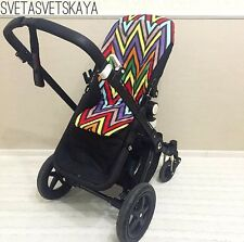 Missoni seat pad liner for Bugaboo buffalo camelion 2 3