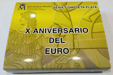 ESPAÑA. 2012. 50 + 10 EURO. X ANIVERSARIO DEL EURO. PLATA