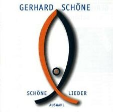 """GERHARD SCHÖNE """"SCHÖNE LIEDER"""" CD NEUWARE"""