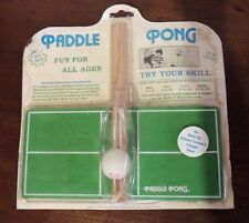 Vintage Paddle Pong  Game from 1970's Tonight Show