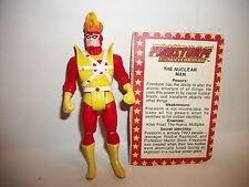 80s Vintage Action Figure DC Super Powers Firestorm w Card