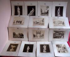 Rarität Weltausstellung Wien 1873 Original Fotografie 14 Foto Tafeln auf Karton