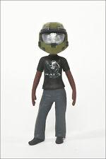 Halo Avatar Series 2 Figure by McFarlane - Anniversary Helmet and Tee