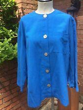 Vintage Orvis Blue Five Button Jacket/Shirt