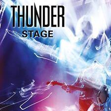 Stage (Live) - 2 DISC SET - Thunder (2018, CD NEUF)