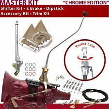C4 Shifter Kit 23 Swan E Brake Cable Clamp Clevis Trim Kit Dipstick For D1F65