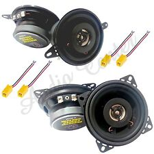 KIT A2 ALTOPARLANTI FIAT PUNTO >98 CASSE 2 VIE 87mm + 100mm ANT+POST